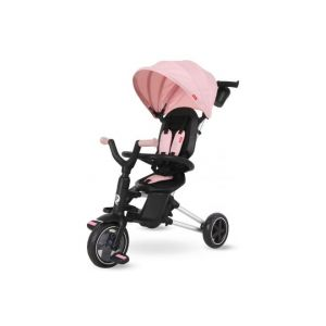 QPlay triciclo per bambina nova rosa
