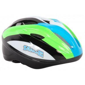 Volare casco per bicicletta Deluxe verde bianco nero 51-55 cm