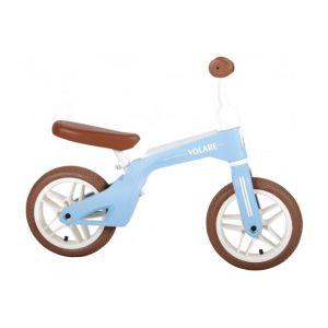 Volare bici senza pedali per ragazzi e ragazze 10 pollici blu
