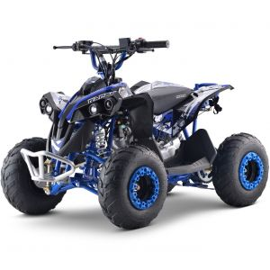 Outlaw quad benzina 110cc automatico blu