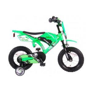 Volare motocicletta bicicletta per bambini 12 pollici verde 2 freni a mano
