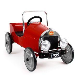Baghera Classic Retro trapauto rood