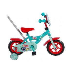 Woezel & Pip bicicletta per bambini 10 pollici blu / rossa