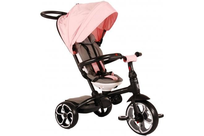 Qplay Tricycle Prime 4 in 1 per bambina rosa
