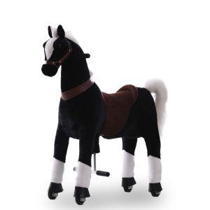 Kijana equitazione cavallo giocattolo marrone grande