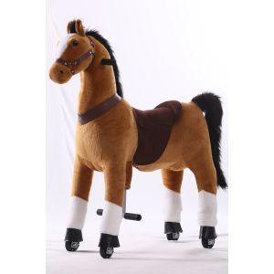 Kijana equitazione giocattolo cavallo marrone grande