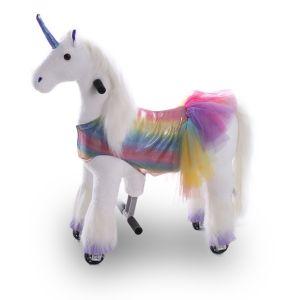 Kijana giocattolo cavalcabile unicorno Sunshine piccolo