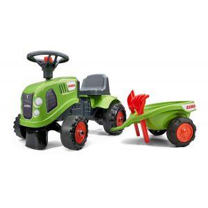 Falk trattore per baby case verde
