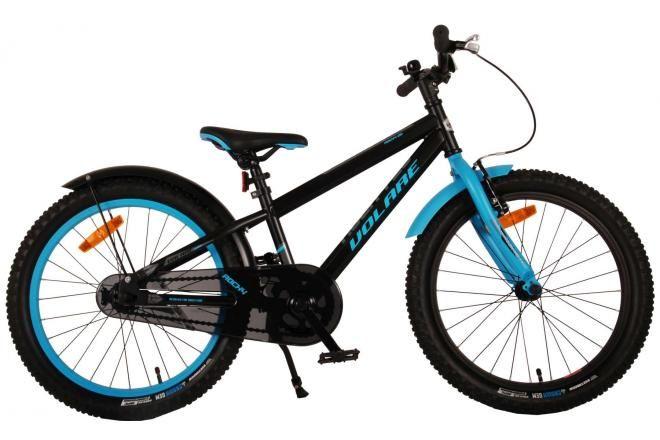 Volare bicicletta per bambini Rocky 20 pollici nera assemblata al 95% collezione Prime