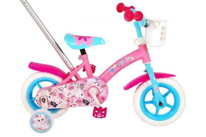 OJO bicicletta per bambini 10 pollici rosa / blu