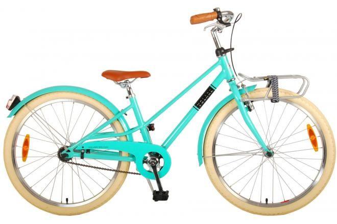 Volare bicicletta per bambini Melody 24 pollici turchese collezione prime