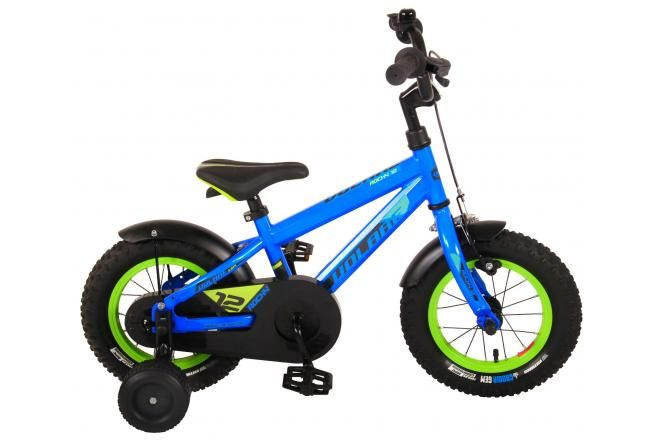 Volare bicicletta per bambini Rocky 12 pollici blu assemblata al 95% collezione Prime