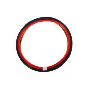 Volare pneumatico 24 pollici rosso nero bicicletta per bambini
