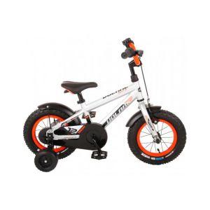 Volare bicicletta per bambini Rocky 12 pollici argento assemblata al 95% collezione prime