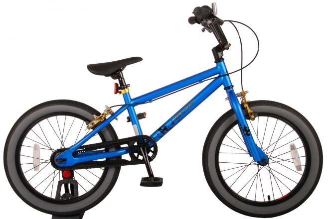 Volare bici per bambini Cool Rider 18 pollici blu due freni a mano assemblata al 95% collezione prime
