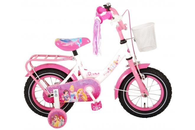 Disney bicicletta per bambini Principesse 12 pollici rosa assemblata al 95%