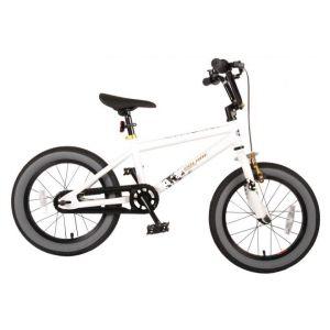 Volare bicicletta per bambini Cool Rider 16 pollici bianca assemblata al 95%
