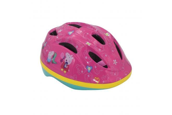 Peppa Pig casco da bicicletta rosa 51-55 cm