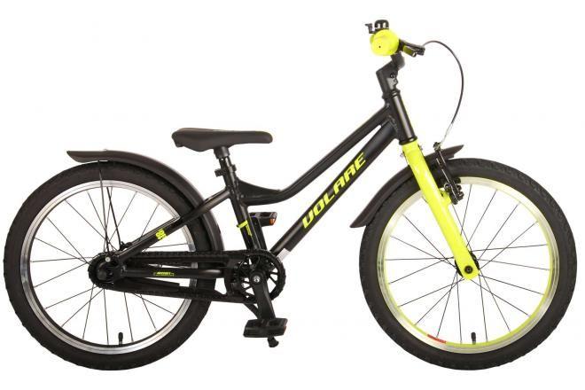 Volare bicicletta per bambini Blaster 18 pollici nero verde collezione prime