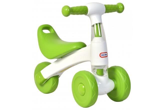 Little Tikes bici senza pedali bianco Verde