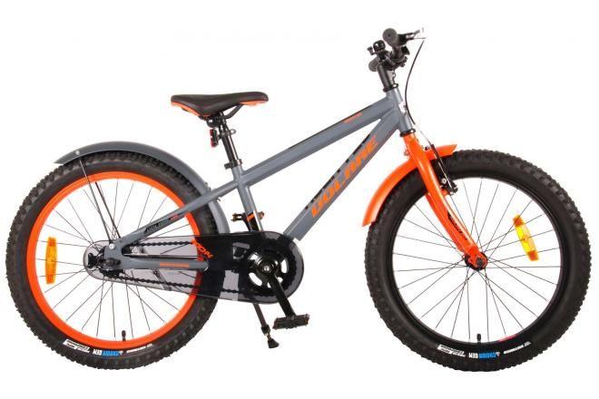 Volare bicicletta per bambini Rocky 20 pollici grigia assemblata al 95% prime collection