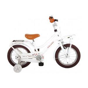 Volare bicicletta per bambini Liberty 14 pollici bianca assemblata al 95%