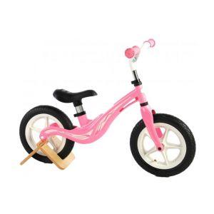 Volare bici senza pedali in magnesio per bambina 12 pollici rosa