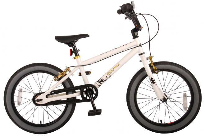 Volare bici per bambini Cool Rider 18 pollici bianca due freni a mano assemblata al 95% collezione Prime