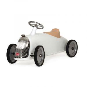 Baghera loopauto Rider retro wit