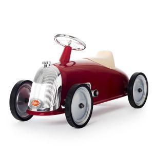 Baghera auto a piedi Rider retrò rosso