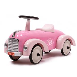 Baghera auto a piedi Speedster retrò rosa
