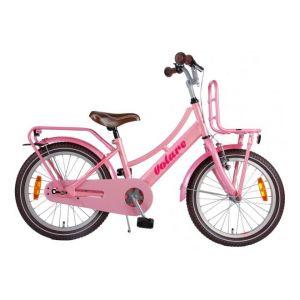 Volare Eccellente bicicletta per bambini 18 pollici rosa assemblata al 95%