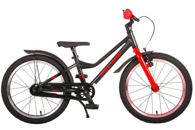 Volare bicicletta per bambini Blaster 18 pollici nero rosso collezione prime