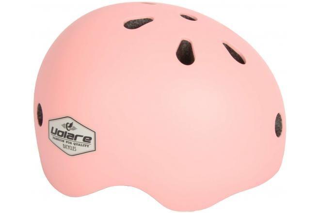 Volare casco per bicicletta per bambini rosa chiaro 51-55 cm
