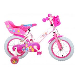 Disney bicicletta per bambini delle Principesse 14 pollici rosa due freni a mano