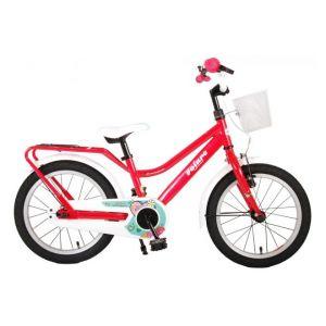Volare brillante bicicletta per bambini 16 pollici rosa assemblata al 95%