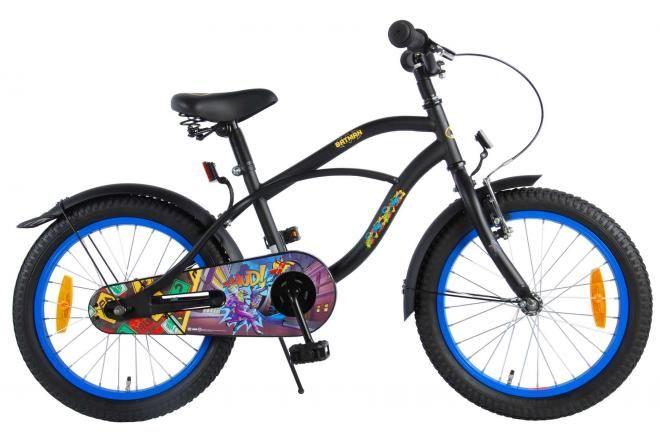 Batman bicicletta per bambini 18 pollici nera
