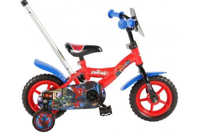 Spider-Man bicicletta per bambini 10 pollici rossa / blu
