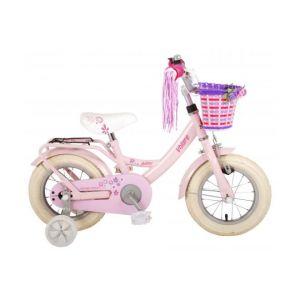 Volare bicicletta per bambini Ashley 12 pollici rosa assemblata al 95%