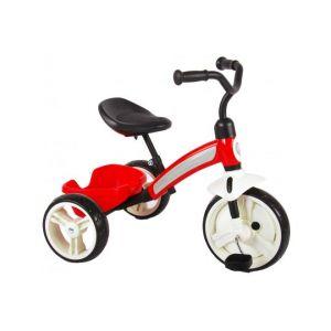 QPlay triciclo Elite per ragazzi e ragazze rosso