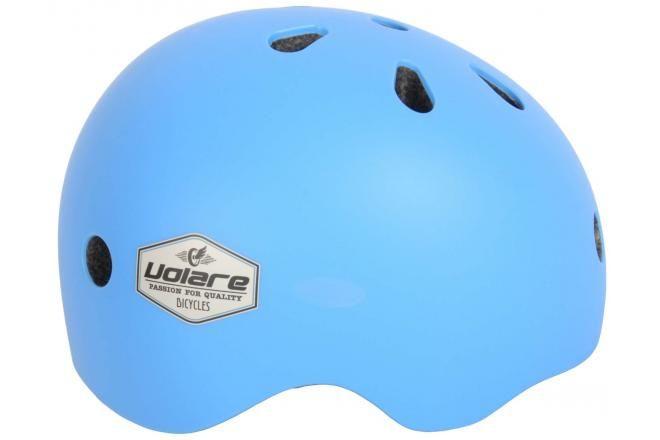 Volare casco da bicicletta per bambini blu 51-55 cm