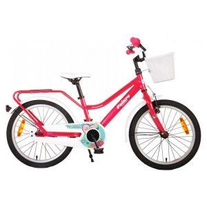 Volare brillante bicicletta per bambini 18 pollici rosa assemblata al 95%