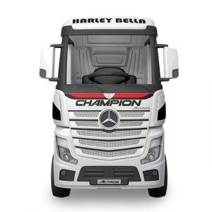 Mercedes camion elettrico per bambini Actros bianco