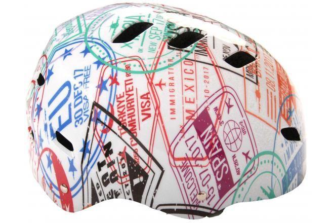 Volare casco da bicicletta / skate -travel the World 55-57 cm