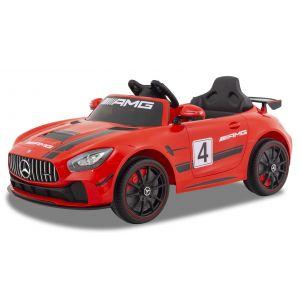 Mercedes auto elettrica per bambini GT4 rosso