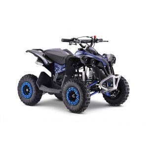 Outlaw quad benzina 49cc blu