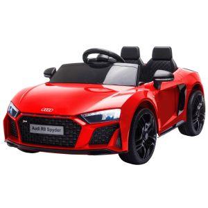 Audi auto elettrica per bambini R8 decappottabile rosso