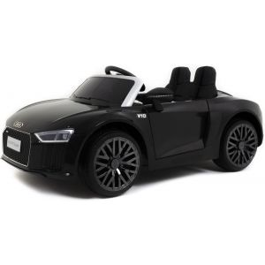 Audi auto elettrica per bambini R8 Cabrio nera
