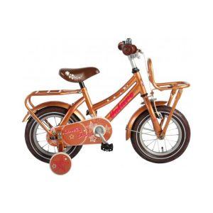 Volare bicicletta per bambini Lovely Stars 12 pollici oro assemblata al 95%
