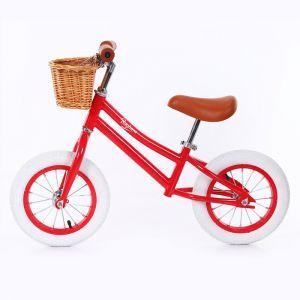 Baghera bici senza pedali Vintage rossa